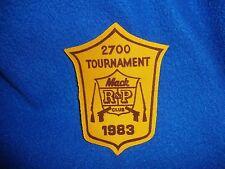 Vintage 1983 Mac Club Tournament Patch