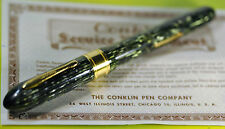 """""""CONKLIN"""" Glider DN34 w/Orig.box and Service Agreement Circa 1938's Fountain pen"""