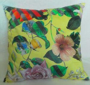 """Designers Guild Christian Lacroix Cushion Cover - MALMAISON JONQUILLE 16"""" x 16"""""""
