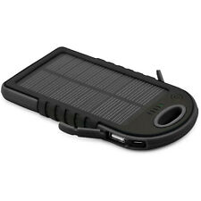 Chargeur Batterie Urgence Solaire Étanche Alimentation 12000mAh Dual USB / BK