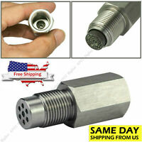 Engine Light O2 Oxygen Sensor Spacer Adapter Bung Catalytic Converter Fix Check