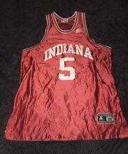 �💦Men's Vintage Starter Indiana Hoosiers Red Basketball Jersey Size Xl/52