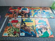 More details for charlton comic collection  x7 1979 to 1985