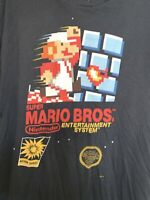 Men's Nintendo Super Mario Bros Short Sleeve Graphic T-Shirt Size XL