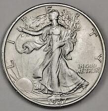 1937-s Walking Liberty Half.  A.U.  116313 (Inv. G)