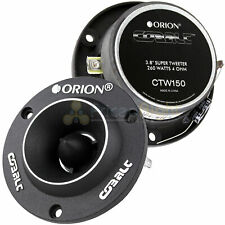 "2 Orion Cobalt 3.8"" Super Tweeters 260 Watt Car Audio Pair Set Ctw150"