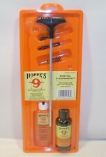 Hoppes Hunting Shooting .38 Cal Handgun Pistol Cleaning Kit Clam Pack PCO38B