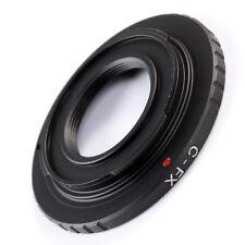 16mm C Mount Cine Movie lens to Fuji Fujifilm X FX X-A1 XT1 XE2 XE1 Adapter Ring
