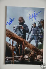 Andy Serkis + Matt Reeves signed 20x30cm Foto Autogramm / Autograph in Person