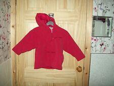 *** REGARD *** voile rose veste à capuche 5-6 ans ***