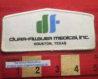 DURR-FILLAUER MEDICAL INC. ( Bergen Brunswig ) Houston Texas Jacket Patch 63Z7