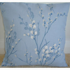 "NEW 18"" Cushion Cover Laura Ashley Pussy Willow Seaspray Blue Ivory Designer"