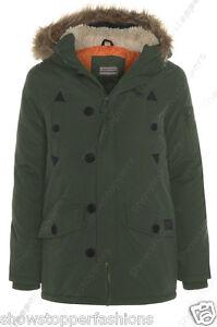 NEW BOYS PARKA JACKET COAT HOODED Boy Padded CLOTHING AGE 7 to 13 Shower proof