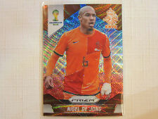 2014 Panini Prizm FIFA World Cup Soccer Red & Blue Prizm  Nigel De Jong