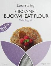 Clearspring Organique & Sans Gluten Entier Sarrasin farine 375 g