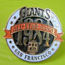 1984 San Francisco Giants All Star Game press pin