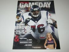 HOUSTON TEXANS GAMEDAY Program December 21st, 2014 w/ Pullout Poster