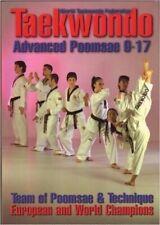European Wtf Tae Kwon Do Advanced Poomsae 9-17 Paperback Book Castellanos Tucci