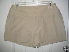 Womens 6 RALPH LAUREN beige shorts cotton nylon XC