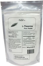 NuSci 100g(3.52 oz) Pure L-Theanine Powder Mood Health