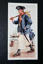 Royal Navy   Seaman     Historic Uniform  Vintage   Colour Card  VGC