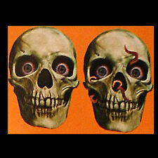 4pc Gothic-HUMAN SKELETON SKULL CUTOUT-Party Door Wall Decoration Halloween Prop