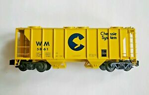 Showcase Line S-Helper Chessie System Hopper S Scale WM 5861