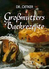 Großmutters Backrezepte von Oetker, August (Dr. Oet...   Buch   Zustand sehr gut