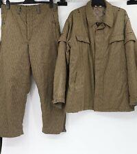 East German mens Military jacket & pants Strichtarn Rain Camo pattern Sg56 G48