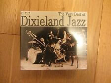 THE VERY BEST OF DIXIELAND JAZZ 5 CD SET BRAND NEW AND SEALED BOX SET