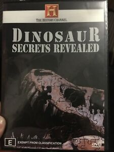 The History Channel - Dinosaur Secrets Revealed region 4 DVD (documentary) rare
