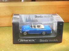 Skoda Felicia Roadster / Convertible in Blue 1964 1/43rd Scale