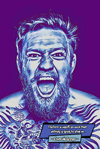 Conor McGregor Comic Icons Art Print (Available In 4 Formats)