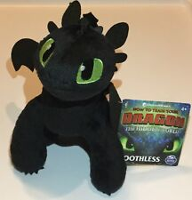 """How to Train Your Dragon The Hidden World Toothless 8"""" Plush"""