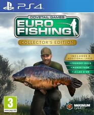 Euro Fishing Ps4 Collector's Edition Sony PlayStation Game UK