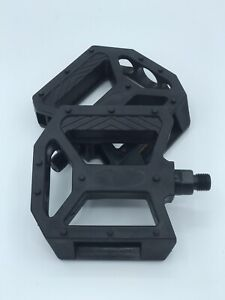 BICYCLE PEDALS 1/2 INCH PEDAL PLASTIC PEDAL BIKE REPLACEMENT NEW