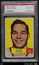 1957 Topps #6 George King Royals-BskB Charleston PSA 6 - EX/MT