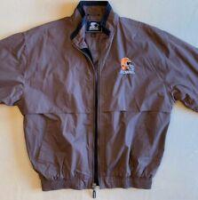 Vintage Cleveland Browns Starter Jacket Large NFL Football Original - Full Zip
