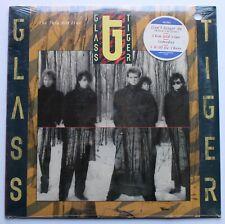 "Glass Tiger Sealed Original Manhattan LP 1986 ""Don't Forget Me"""