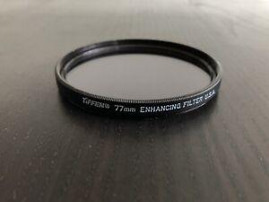 TIFFEN 77mm Enhancing Filter ** WIE NEU **