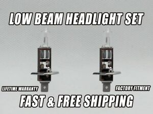 Factory Fit Halogen Low Beam Headlight Bulbs For HONDA PRELUDE 1997-2001 Qty 2