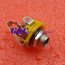 "Professional Stereo Output 1/4"" 6.35mm Jacks For Electric Guitar Switch Repairs"