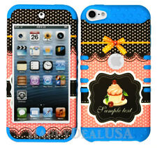 For Apple iPod Touch iTouch 5 | 6 - KoolKase Hybrid Cover Case - Cute Cupcake 32
