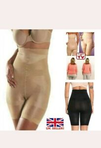 Body Shaper Panties Shorts High Waist Panty Girdle Tummy Thigh Trimmers Pants UK