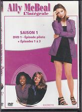 DVD ALLY McBEAL DVD 1 DE LA SAISON 4 EPISODES DONT LE PILOTE