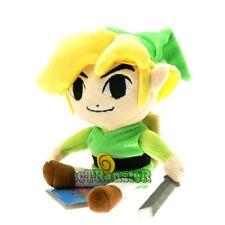 "New Nintendo 7"" The Legend of Zelda Link Plush Doll Soft Toy/QT2978"