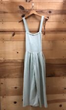 Free People Moonrise Romper Light Blue/green Pleated Boho Strappy Sz S SOLD OUT