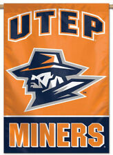 Utep Miners University of Texas-El Paso Official Ncaa Team 28x40 Banner Flag