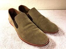 Johnston & Murphy J&M men's brown slip on shoes size 12 M Nice Shape