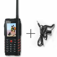"Waterproof Cell Phone IP68 Rugged 2.4"" 2G 1.3MP Camera 2SIM GSM Walkie Talkie"